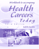 cover image - Workbook to Accompany Health Careers Today,3rd Edition