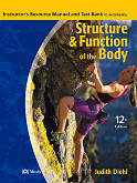 cover image - Study Guide to Accompany Structure and Function of the Body,12th Edition