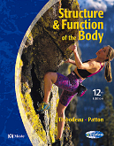 cover image - Structure & Function of the Body - Soft Cover Version,12th Edition