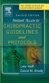 cover image - Instant Access to Chiropractic Guidelines and Protocols,2nd Edition
