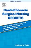 cover image - Cardiothoracic Surgical Nursing Secrets