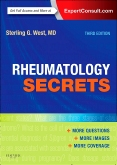cover image - Rheumatology Secrets,3rd Edition