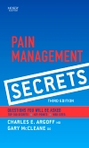 Pain Management Secrets, 3rd Edition