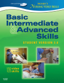 cover image - Mosby's Nursing Video Skills - Student Version DVD,3rd Edition