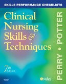 cover image - Skills Performance Checklists for Clinical Nursing Skills & Techniques,7th Edition