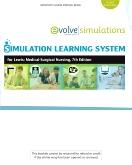 Simulation Learning System for Lewis et al:  Medical-Surgical Nursing, 7th Edition