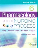 cover image - Study Guide for Pharmacology and the Nursing Process,6th Edition