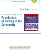 Community/Public Health Nursing Online for Stanhope and Lancaster, Foundations of Nursing in the Community (User Guide and Access Code), 3rd Edition