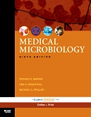 cover image - Evolve Resources for Medical Microbiology,6th Edition
