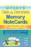 Mosbys Fluids & Electrolytes Memory NoteCards
