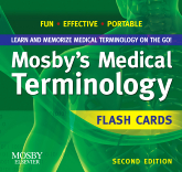 Mosby's Medical Terminology Flash Cards, 2nd Edition