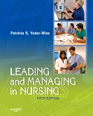cover image - Evolve Resources for Leading and Managing in Nursing,5th Edition