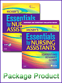 Mosby's Essentials for Nursing Assistants - Text and Workbook Package, 4th Edition