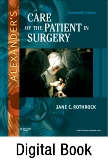 cover image - Evolve Resources for Alexander's Care of the Patient in Surgery,14th Edition