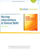 cover image - Nursing Skills Online Version 2.0  for Nursing Interventions & Clinical Skills (User Guide and Access Code),5th Edition