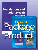 Foundations and Adult Health Nursing – Text and Virtual Clinical Excursions 3.0 Package, 6th Edition