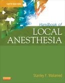 cover image - Handbook of Local Anesthesia,6th Edition