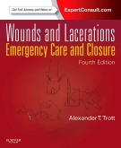 cover image - Wounds and Lacerations,4th Edition