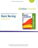 Nursing Skills Online 2.0 for Basic Nursing, 7th Edition
