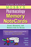 Mosby's Pharmacology Memory NoteCards, 3rd Edition
