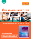 Simulation Learning System for Lewis et al:  Medical-Surgical Nursing (User Guide and Access Code), 8th Edition
