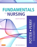 cover image - Fundamentals of Nursing,8th Edition