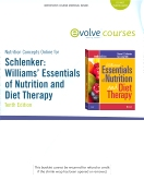 Nutrition Concepts Online for Schlenker: Williams' Essentials of Nutrition and Diet Therapy, 10th Edition