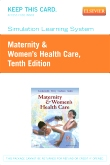 cover image - Simulation Learning System for Maternity & Women's Health Care (User Guide and Access Code),10th Edition