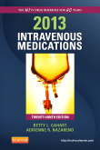 2013 Intravenous Medications, 29th Edition