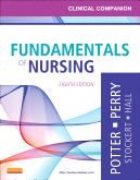 cover image - Clinical Companion for Fundamentals of Nursing,8th Edition