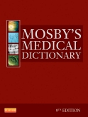 cover image - Mosby's Medical Dictionary,9th Edition