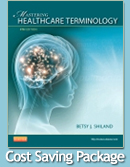 cover image - Medical Terminology Online for Mastering Healthcare Terminology - Spiral Bound  (Access Code) with Textbook Package,4th Edition