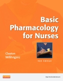 cover image - Basic Pharmacology for Nurses,16th Edition