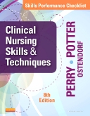 cover image - Skills Performance Checklists for Clinical Nursing Skills & Techniques,8th Edition