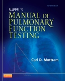 cover image - Ruppel's Manual of Pulmonary Function Testing - Elsevier eBook on VitalSource,10th Edition