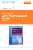 cover image - Medical-Surgical Nursing - Pageburst E-Book on VitalSource (Retail Access Card),8th Edition
