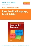 cover image - Medical Terminology Online for Basic Medical Language,4th Edition