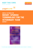 Spanish Terminology for the Veterinary Team - Elsevier eBook on VitalSource (Retail Access Card)