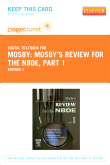 cover image - Mosby's Review for the NBDE, Part 1 - Elsevier eBook on VitalSource (Retail Access Card)