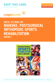 Postsurgical Orthopedic Sports Rehabilitation - Elsevier eBook on VitalSource (Retail Access Card)