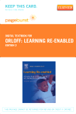 Learning Re-Enabled - Elsevier eBook on VitalSource (Retail Access Card), 2nd Edition