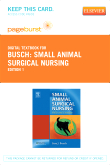 Small Animal Surgical Nursing - Elsevier Digital Book (Retail Access Card)