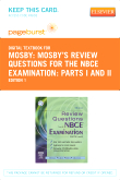 cover image - Mosby's Review Questions for the NBCE Examination: Parts I and II - Elsevier eBook on VitalSource (Retail Access Card)