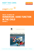 Hand Function in the Child - Elsevier eBook on VitalSource (Retail Access Card), 2nd Edition