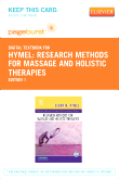 cover image - Research Methods for Massage and Holistic Therapies - Elsevier eBook on VitalSource (Retail Access Card)