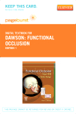 Functional Occlusion - Elsevier eBook on VitalSource (Retail Access Card)