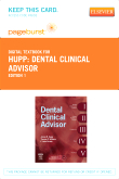 Dental Clinical Advisor - Elsevier eBook on VitalSource (Retail Access Card)