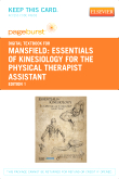 Essentials of Kinesiology for the Physical Therapist Assistant - Elsevier eBook on VitalSource (Retail Access Card)