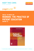 The Practice of Patient Education - Elsevier eBook on VitalSource (Retail Access Card), 10th Edition