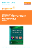 Contemporary Orthodontics - Elsevier eBook on VitalSource (Retail Access Card), 4th Edition